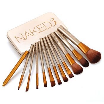 Bộ 12 cọ trang điểm Naked3