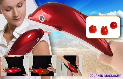 Máy Massage Cá Heo Small Mini H668 tặng kèm sạt