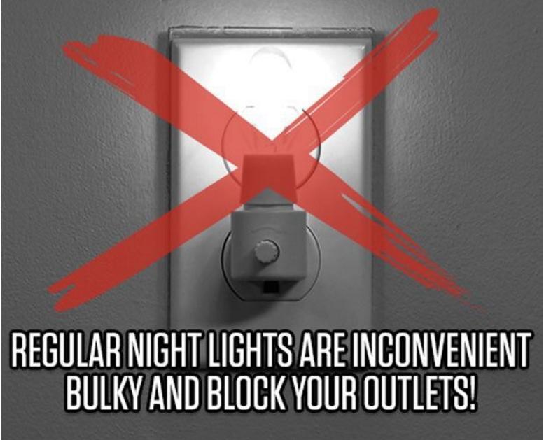 Vỏ Hộp ổ điện có đèn Night Anggel