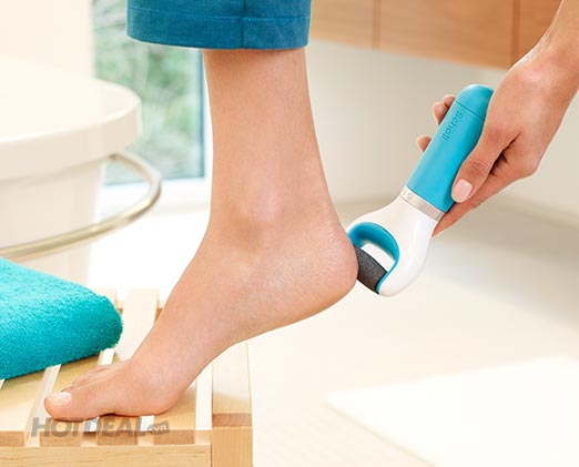 Máy chà gót chân velvet smooth