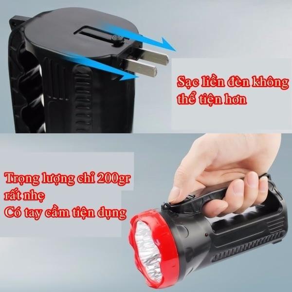 �猫n pin LED s岷�c x谩ch YS-3319
