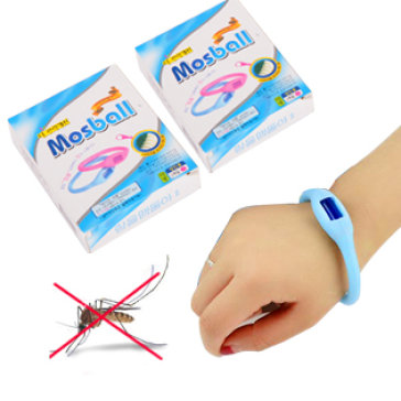Vòng tay đuổi muỗi có tinh dầu Mosball