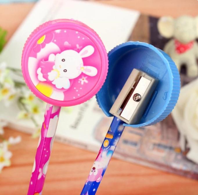 Bộ dụng cụ học tập cute Pingki