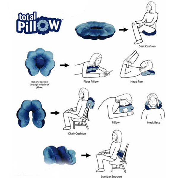 Gối tựa lưng ToTal Pillow 5 in 1
