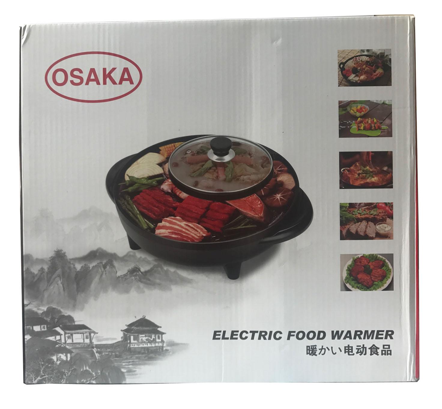 Chảo lẩu nướng osaka electric Food warmer