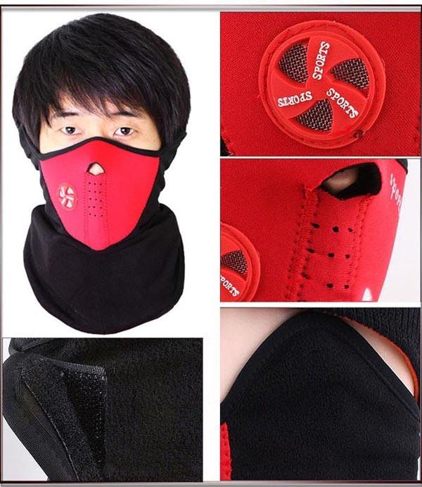 Khẩu Trang Kiểu Dáng Ninja Dành Cho Dân Phượt