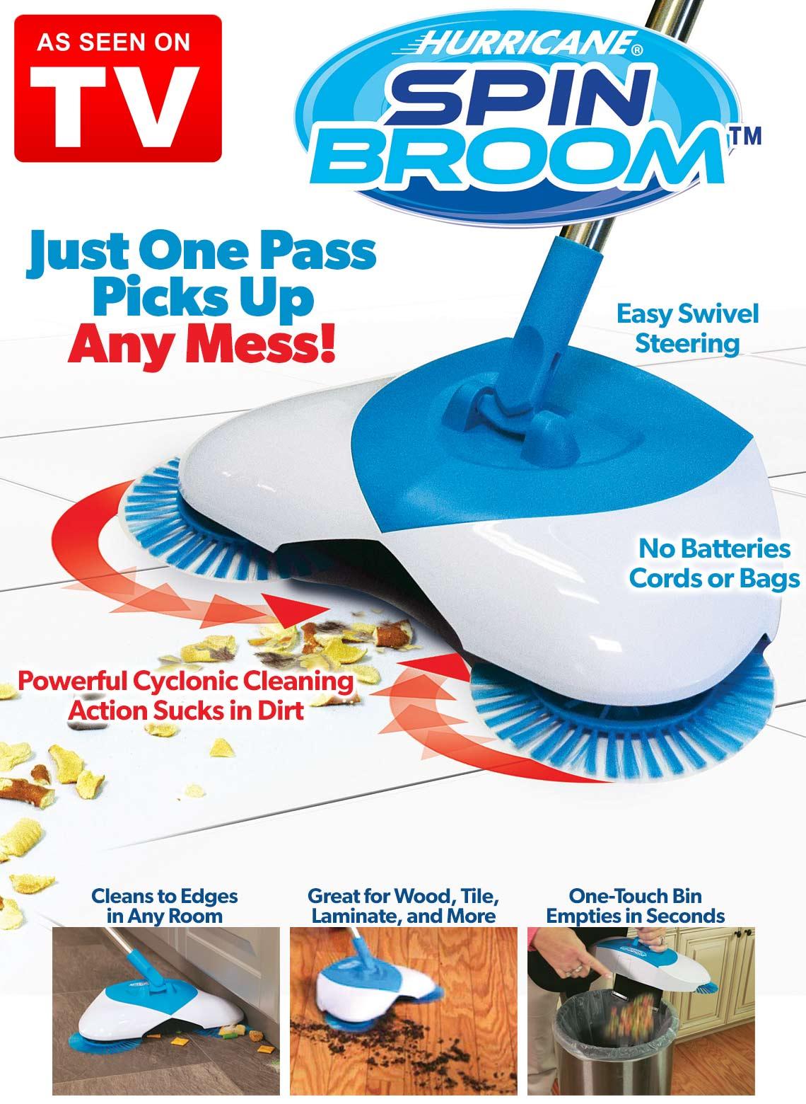 Cây lau nhà Spin Broom