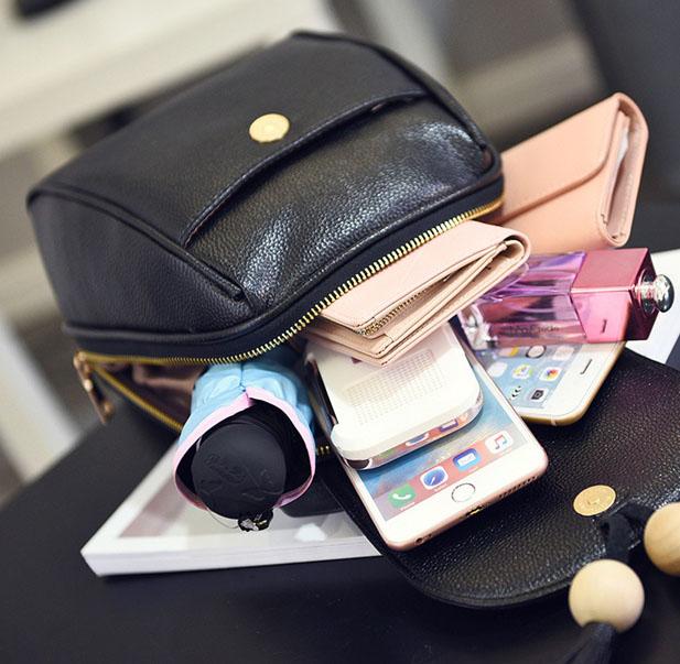 Balo túi nhỏ hạt gỗ thời trang, tiện dung,chứa những vật dụng cần thiết