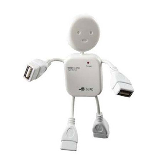 Hub chia USB thành 4 cổng hình robot