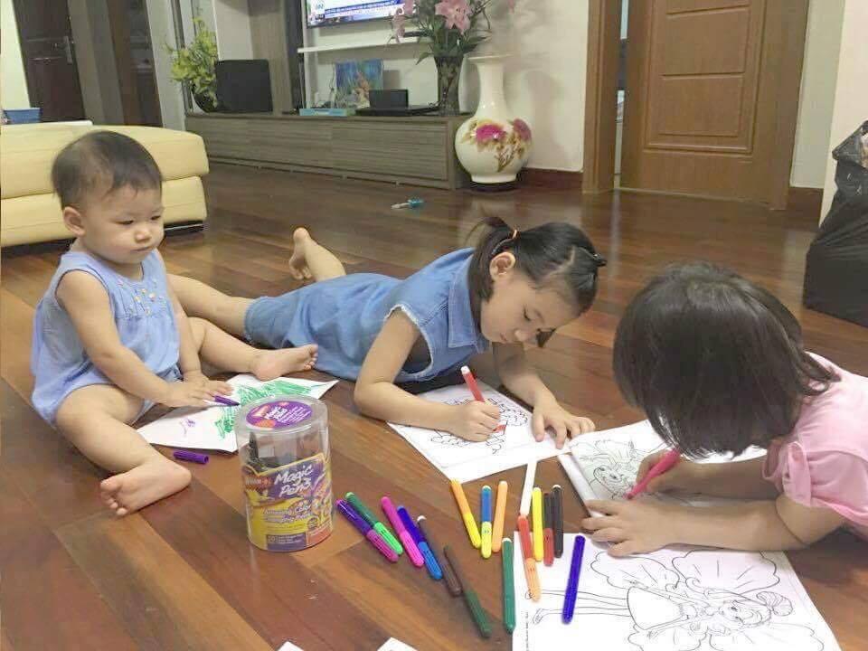 Bộ Bút Tô Màu Ma Thuật Magic Pens