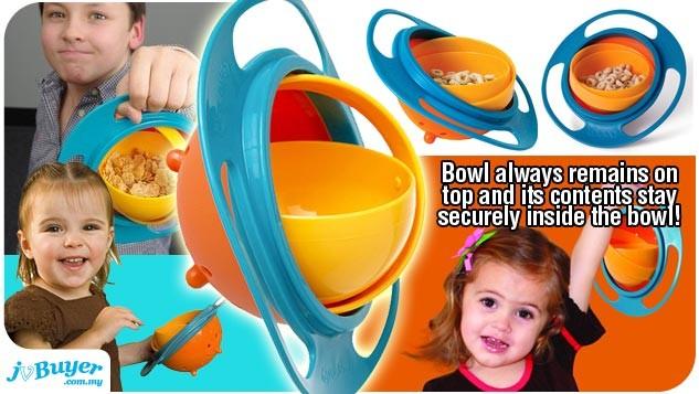 Chén thông minh Universal Gyro Bowl chống đổ