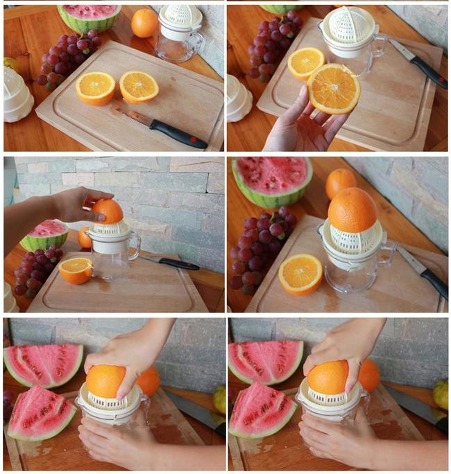 Dụng cụ vắt cam và ép hoa quả đa năng 2 in1