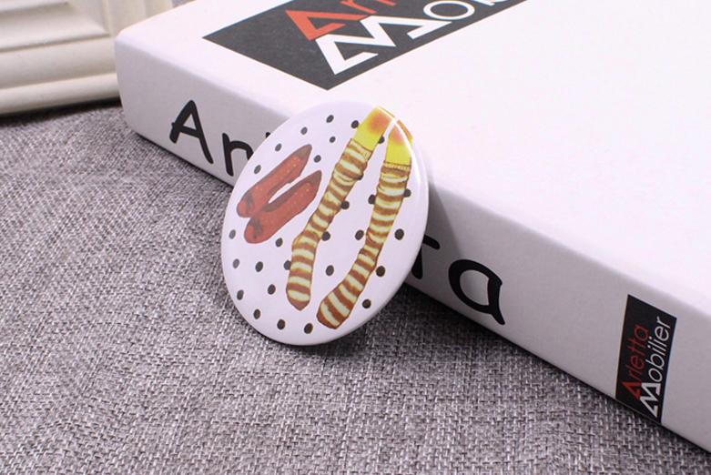 Gương tròn trang điểm A06 mini bỏ túi