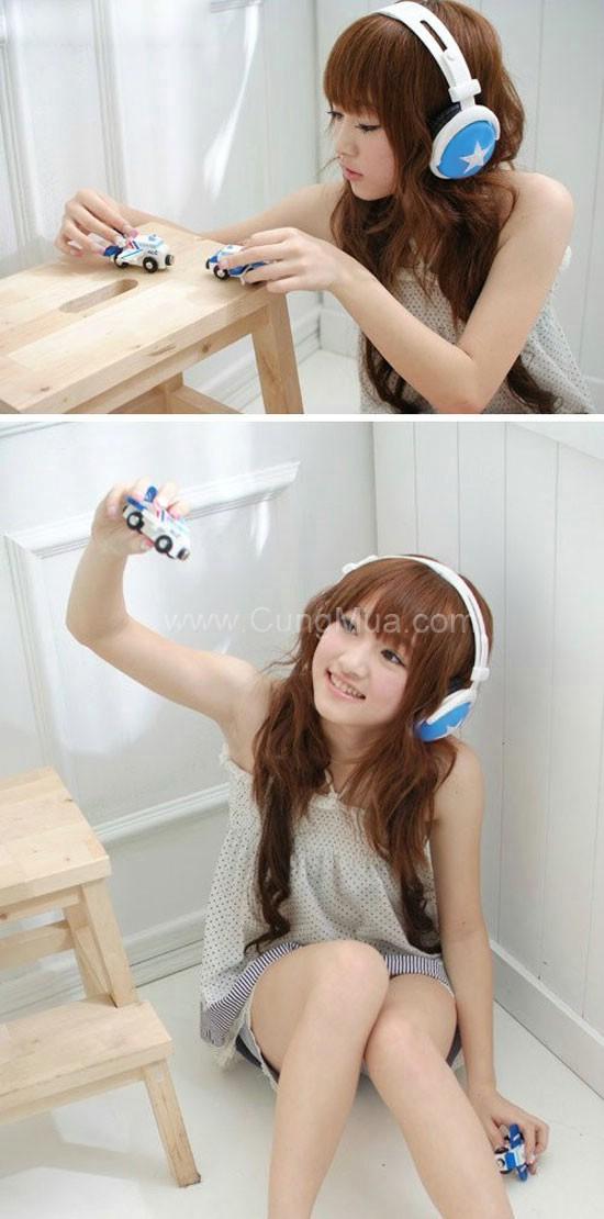 Tai nghe kiểu dáng Hàn Quốc Mix-Style