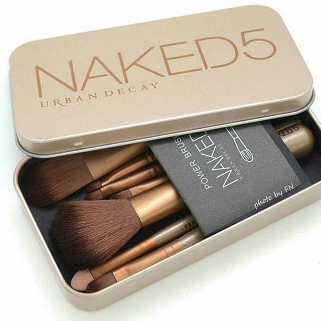 Bộ cọ trang điểm Naked 5