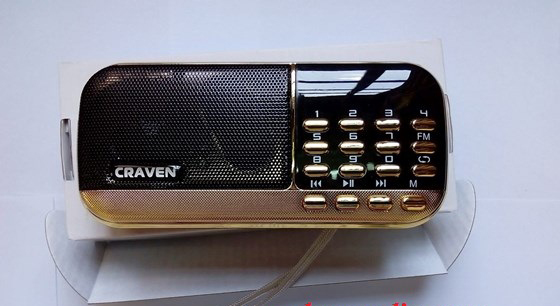 Loa nghe nhạc USB thẻ nhớ FM Craven CR-836