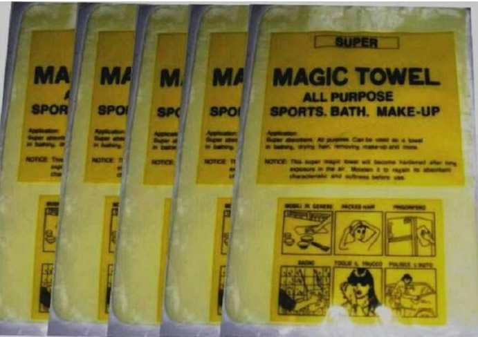 Khăn lau magic Towel