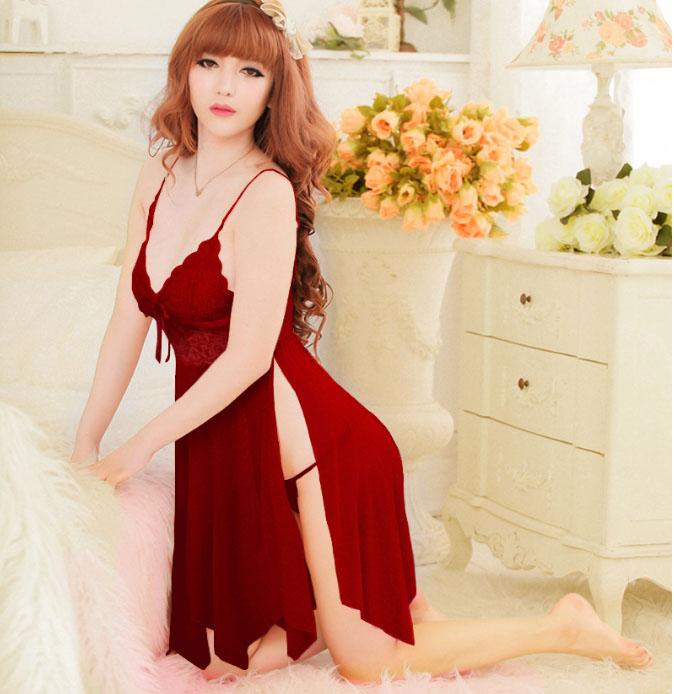 Chiếc váy ngủ màu đỏ này được lấy ý tưởng từ tình yêu mãnh liệt