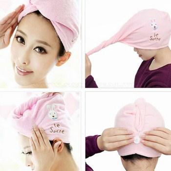 Mũ trùm đầu khi tắm, hấp tóc