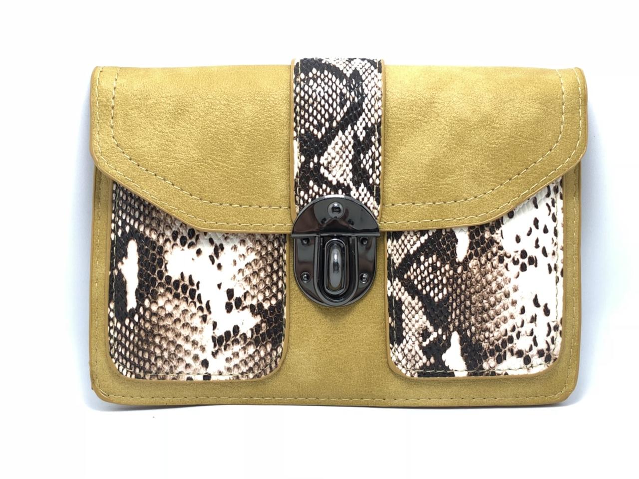 Túi xách đeo chéo 421 hình da trăn