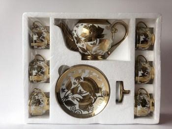 Bộ tách trà cao cấp 1 bình trà và 6 ly