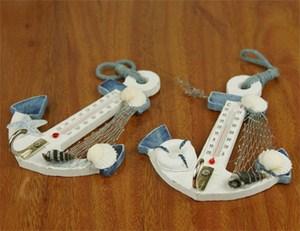 Nhiệt kế mô hình mỏ neo phong cách biển