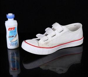 Tẩy trắng giày plac có đồ chùi
