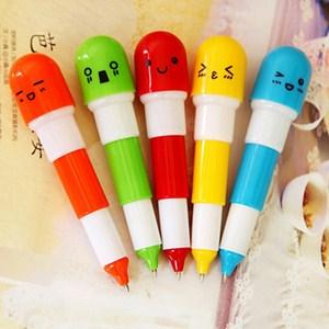 Bút bi viên thuốc mặt cười