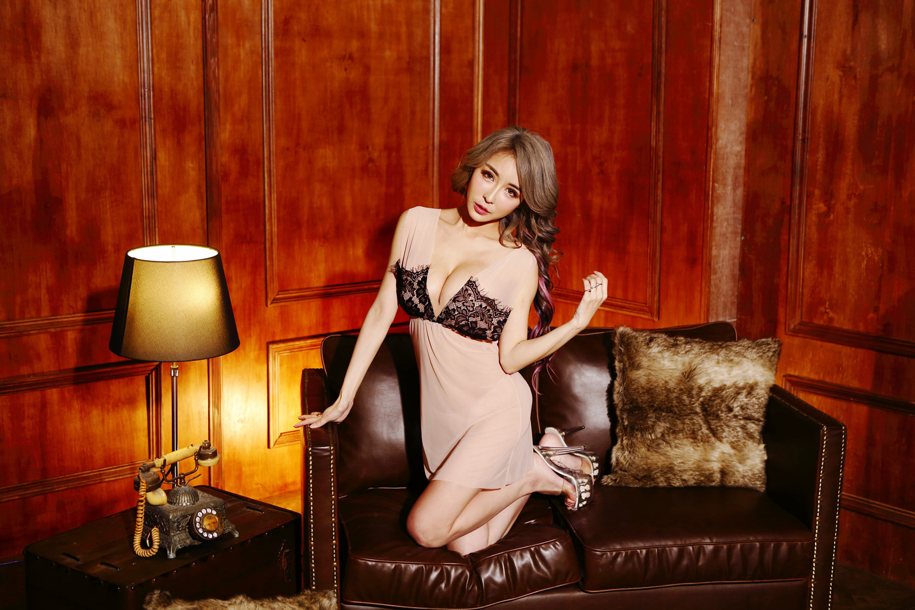Đầm ngủ lingerie set