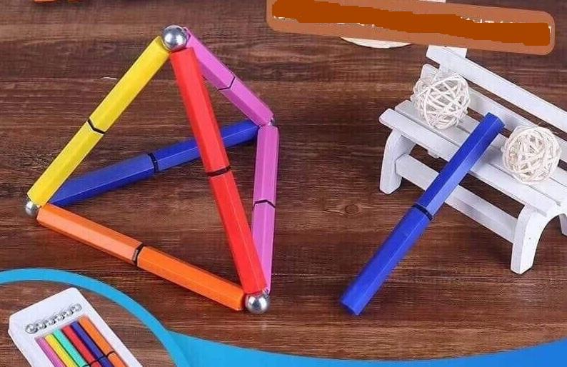 Bút nam châm 12 chi tiết + 6 viên tròn