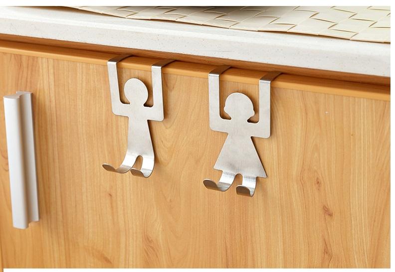 Móc treo nhà bếp hình em bé
