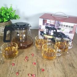 Bình lọc trà kèm ly