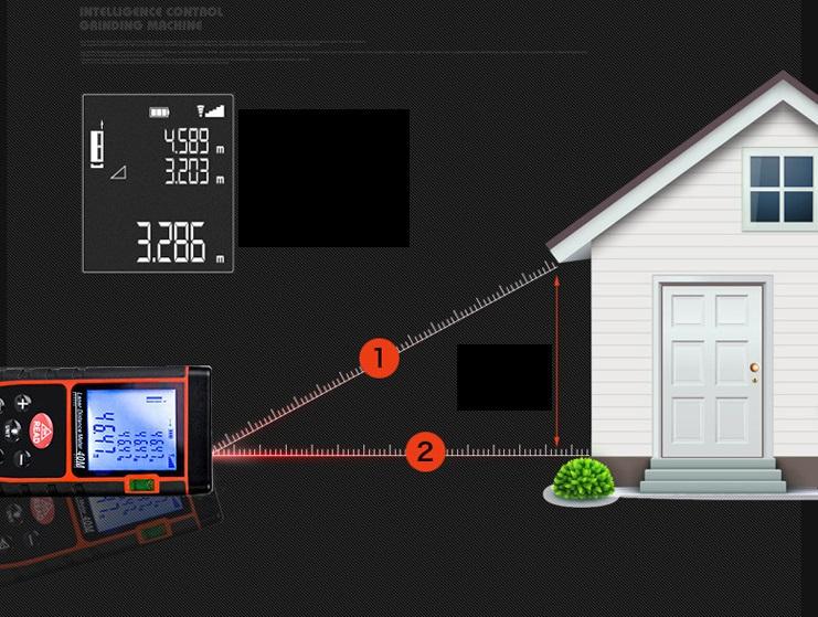 Máy đo khoảng cách laser cầm tay