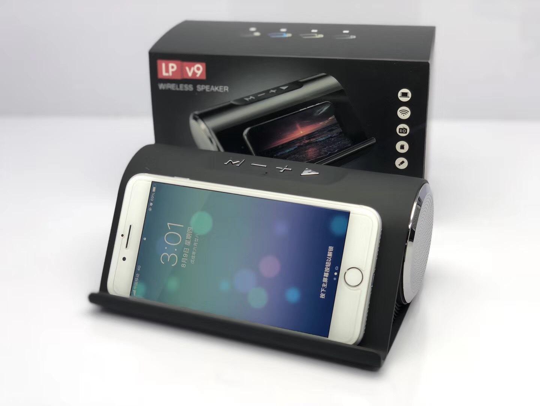 Loa Bluetooth LP-V9 có giá đỡ điện thoại