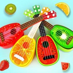 Đàn Guitar Hình Trái Cây Cho Bé