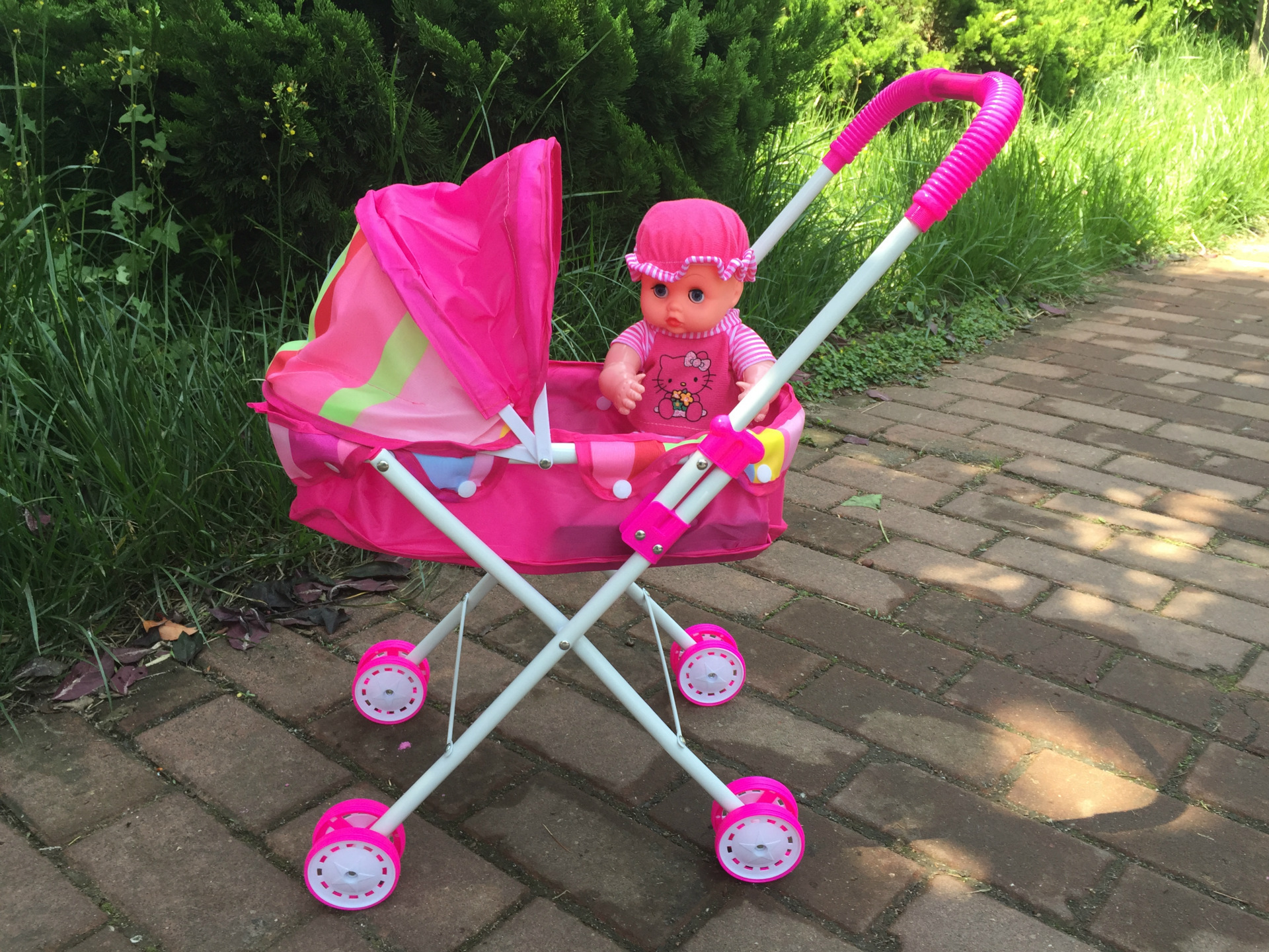 Xe đẩy búp bê đồ chơi cho bé