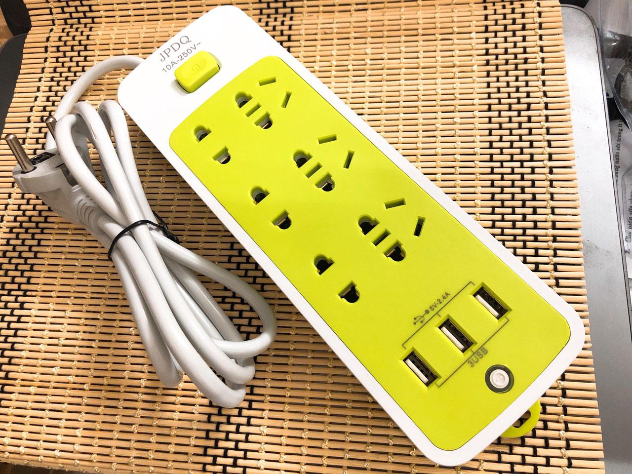 Ổ điện đa năng 21 ổ cắm 3 nguồn usb