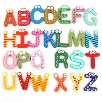 Combo 26 chữ cái dán tủ cho bé
