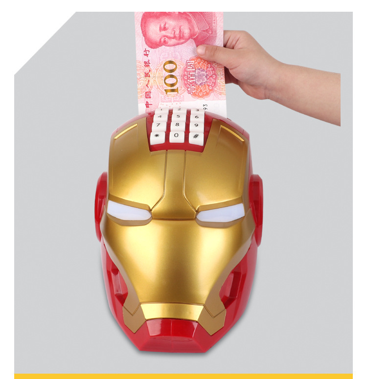 Két sắt mini hình Iron Man cho bé