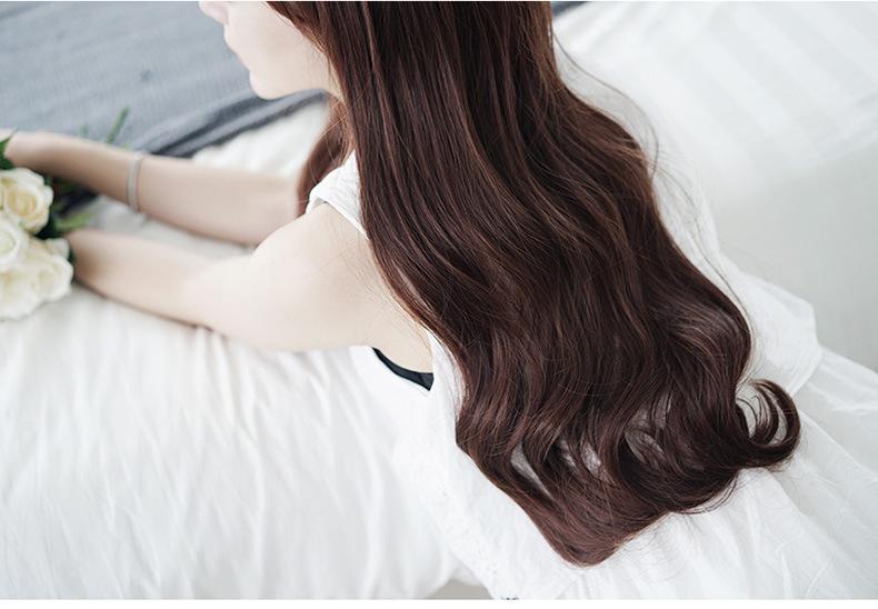 Bộ tóc giả xoắn dài