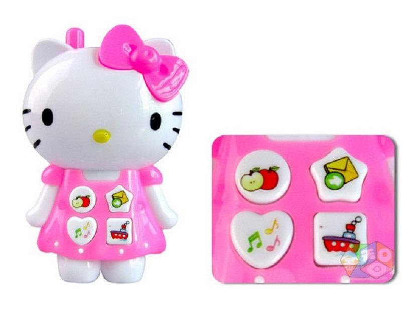 Mô hình điện thoại đồ ăn hello kitty