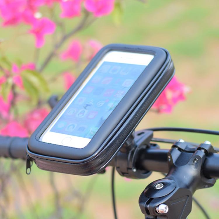 Túi đựng điện thoại chống nước có khung gắn xe đạp