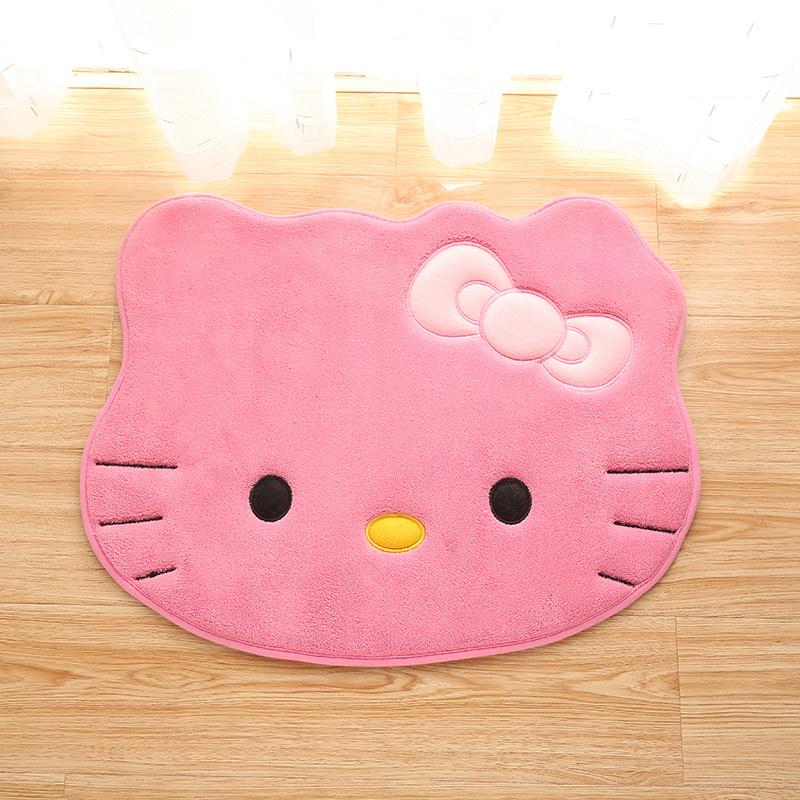 Thảm lau chân hình mèo hello kitty
