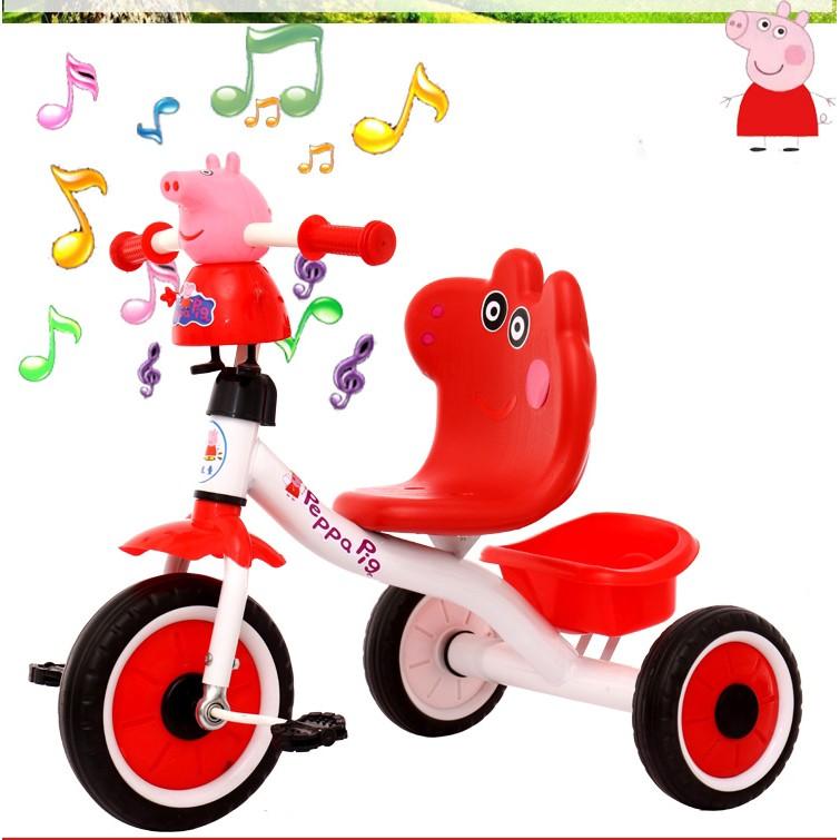 Xe đạp 3 bánh cho bé hình heo