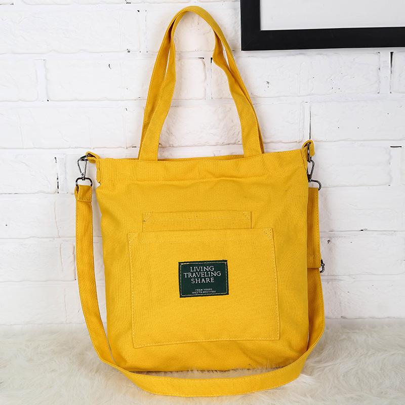 Túi xách vải đeo vai Living