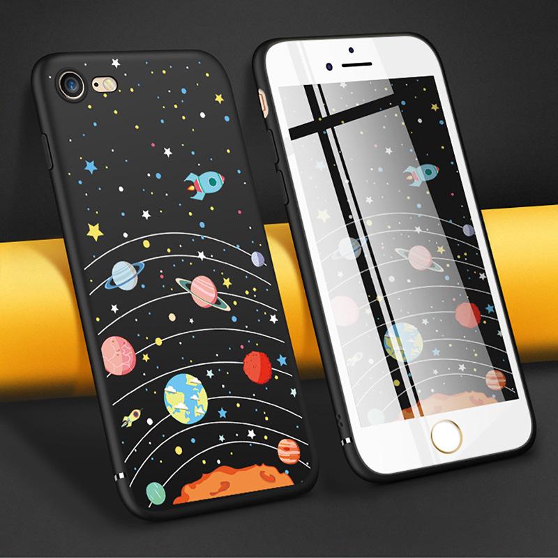 Ốp lưng điện thoại hình vũ trụ