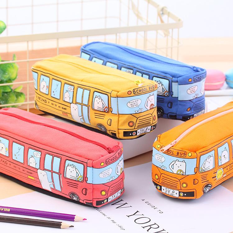 Hộp bút hình xe bus