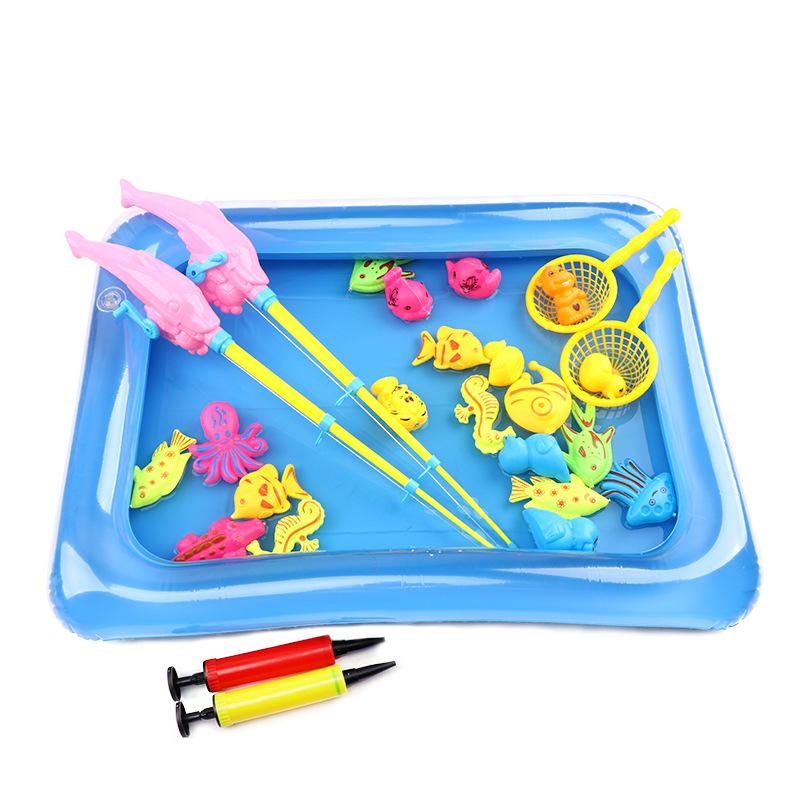 Bể bơi câu cá dành cho bé