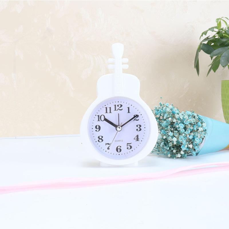 Đồng hồ để bàn hình cây đàn (4 màu)