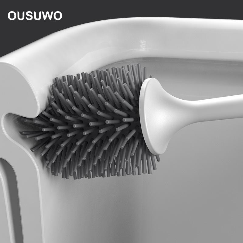 Bộ cọ vệ sinh Ousuwo treo tường 43x10.6cm